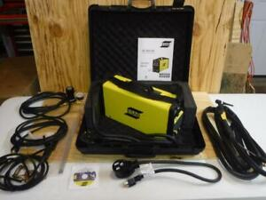 New W1003807 Esab Et 201i Dc Portable Tig Stick Welding Machine Kit Fast Ship