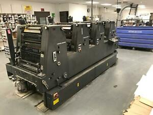 Heidelberg Gtovp 52 4 Color 1986 With Alcolor Damps