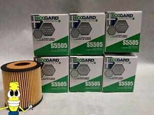 Synthetic Oil Filter For 2006 2009 Ford Fusion With 2 3l Engine 10k Mile X6