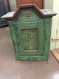 Antique Wall Hanging Cupboard 1813