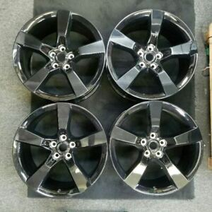 20 Rear 5 Spoke Polished Opt R40 10 14 Camaro Oem Wheel Rim 5445