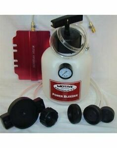 Motive Power 0260 Brake Bleeder 2 Qt Capacity Thread on Universal Kit