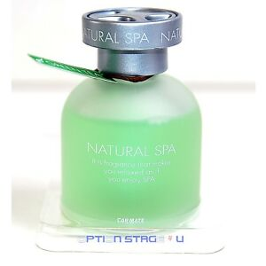 Carmate Natural Spa Green Tea Car Air Freshener Cologne Aromatherapy Fragrance