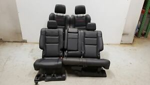 2020 Jeep Grand Cherokee Trailhawk Seats Front Rear Left Right Black Leather Oem