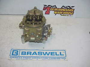 Braswell Holley Hp 830 Cfm Downleg Boosters Racing Carburetor Nascar Dei 41