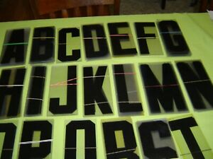 8 Inch Tall Sing Letters On A 8 1 2 Backing For Use On A Outdoor Sign