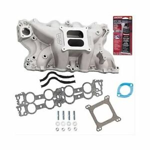 Bbf 429 460 Ford Weiand Stealth 8012 Intake W Gaskets Bolts Pro Pack