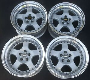 Simmons F90 Series 3 piece Forged 16 Wheels 5x100 Australia Rims Staggered