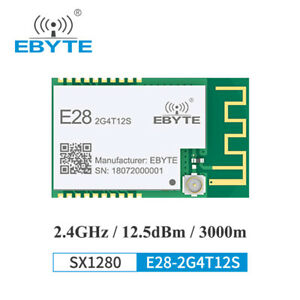 Sx1280 Uart Lora Ble Radio Module 2 4ghz E28 2g4t12s 2 4g Wireless Transceiver