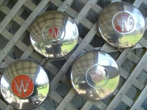 Willys Jeep Jeepster Overland Wagen Hubcaps Wheel Cover Center Caps Pickup Truck