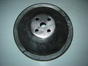 Vintage Mopar Chrysler Dodge Plymouth Water Pump Pulley 2 Groove A C