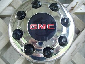 One Gmc Dually Sierra Sonoma Yukon Pickup Truck Blazer Van Hubcap Center Cap