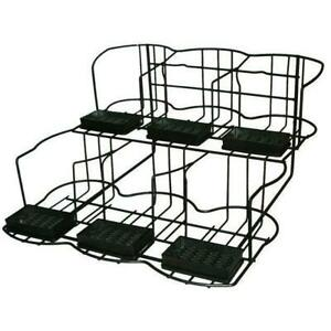 Commercial Apr6 Six 6 Pot Wire Station Airpot Rack Coffee Server Display Stand