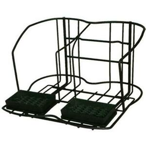 Commercial Apr2 Two 2 Pot Wire Station Airpot Rack Coffee Server Display Stand
