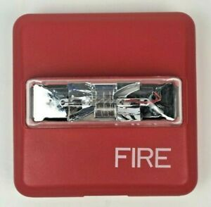 New Siemens Zr mc cr Fire Alarm Strobe Multi Candela Ceiling Mount red