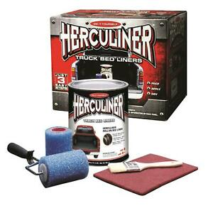 Herculiner Hcl1b8 Bedliner Brush On 1 Gallon Kit