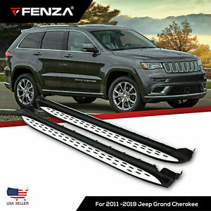 Running Boards Nerf Bars For 2011 2019 Jeep Grand Cherokee Side Steps