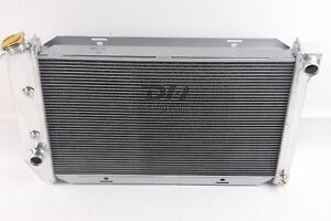 Fit 1969 1973 Ford Mustang Torino Lincoln Cougar 3 Row Aluminum Radiator Cu381