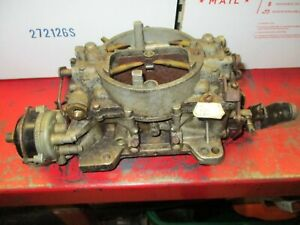Orig 1962 Chevrolet Corvette Afb 3269s 379769 Carter Carburetor 300hp 340hp C2