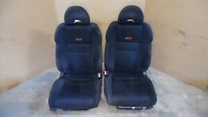 2006 2011 Honda Civic Si Coupe Front Cloth Bucket Seats W Airbag Rh