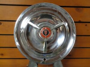 1956 Chrysler Windsor Saratoga Optional Spinner 15 Wheelcover Hubcap Rare