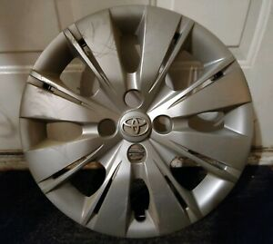 1 Oem 2012 14 Toyota Yaris Hatchback 15 Hubcap Wheel Cover C Pn 42602 52520