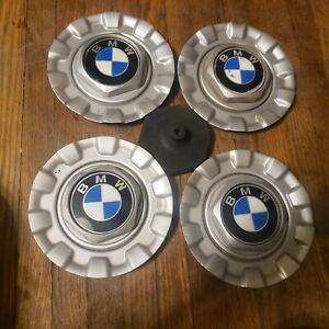 Set Of 4 Oem Bmw E39 5 series Bbs Style 29 Alloy Wheel Center Caps Hubcaps e