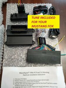 Ford Foxbody 89 93 Microsquirt Engine Management System Plug And Play