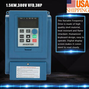 Ac 380v 3 phase Variable Frequency Drive Inverter Cnc Motor Vfd