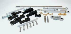 Aed Performance Throttle Linkage Kit Dual Quad Sideways Mount Holley Carter