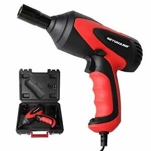 Portable Electric Car Impact Wrench Repair Tool 1 2 12 Volt Carry Case Socket