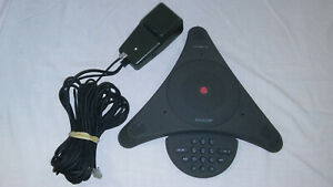 Polycom Soundstation 2201 00106 001 Conference Phone W Premier Wall Module