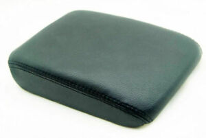 Console Armrest Leather Synthetic Cover For Vw Jetta Vento Mk5 05 10 Black