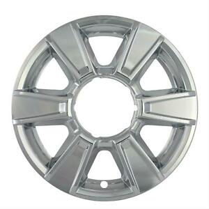 Wheel Covers Bully Imposter Wheel Skins Abs Plastic Chrome 17 In Gmc Set Of 4