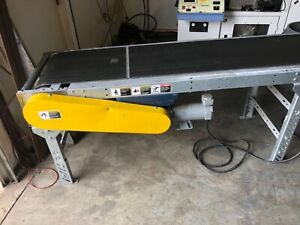 12 Conveyor 20 wide 120v With Dc Drive For Speed Control