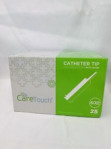 60ml Catheter Tip Syringe With Covers 25 Syringes By Care Touch