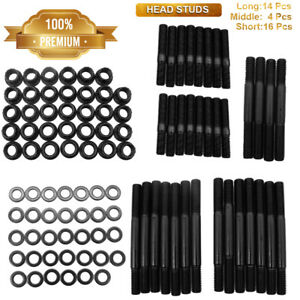 Cylinder Head Stud Kit For Pce279 1001 Small Block Chevy Sbc 305 327 400 350 Hot