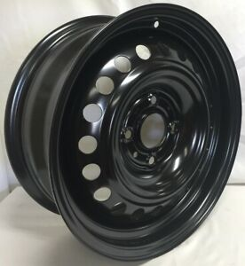 New 16 4 Lug Black Steel Wheel Rim Fits Nissan Sentra We37426n
