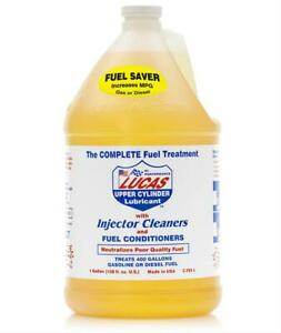 Lucas Fuel Treatment Upper Cylinder Lubricant Injection Cleaner 1 Gal 10013 1