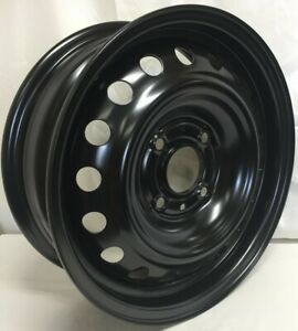 Versa 2007 2011 15 Inch 4 On 114 3 Black Steel Wheel Rim We90526n