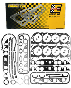 Engine Pro Full Overhaul Gasket Set For 1965 1979 Chevrolet Bbc 396 402 427 454