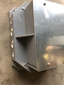 Hubbell Lcfbp8 Floor Box Duplex Plate Large Capacity