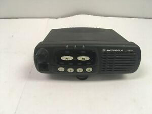 Motorola Cdm750 Uhf 40w Mobile 450 512mhz 4ch Model Aam25skc9pw1an Used Tested