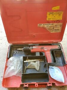 Hilti Dx35 Powder Actuated Nail Gun Ramset Plus Case