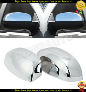 For 2007 13 Chevy Silverado Tahoe Gmc Sierra Yukon Chrome Mirror Covers Overlays
