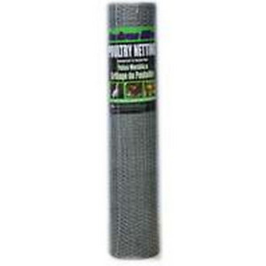 Jackson Wire 12084515 Poultry Netting Galvanized 1 2x36inchx150foot