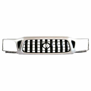 New For Toyota Tacoma Front Grille Fits 2001 2004 To1200249 5310004250b0