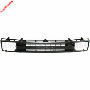 New For Toyota Pickup Fits 1989 1991 Grille Painted Black Front To1200134