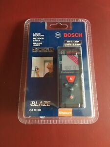 Bosch Glm 30 100ft Laser Measure Brand New Shipping W Usps First Class