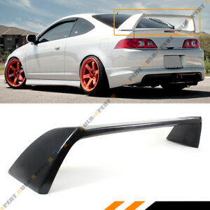 For 2002 06 Acura Rsx Integra Dc5 Type R Jdm Matt Black Rear Trunk Spoiler Wing